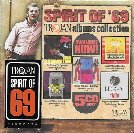 Various - Spirit Of '69: Trojan Albums Collection (Trojan) 5xCD